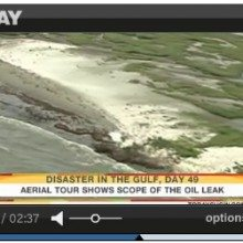 Stunning Aerial Video Of The Oil Saturated Gulf