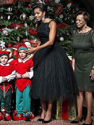 First Lady Michelle Obama Sends Green Message With Vintage