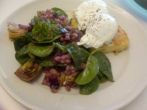 Cibo's Poached Eggs