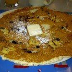 The Bananna Pancake at he Lighthouse Restaurant