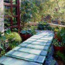 Green Home Water Garden and bridge