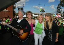Olivia Newton-John Walks Heart to Heart for Health and Wellness