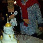 George and Irina Cake