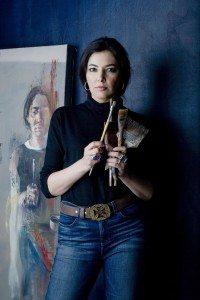 Portrait of Zhenya Gershman, Michele Mattei