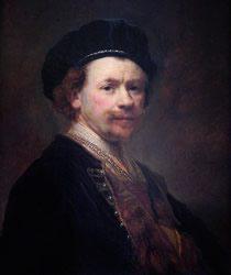 Rembrandt van Rijn, Self-Portrait, c. 1636-38, Norton Simon Museum, Pasadena