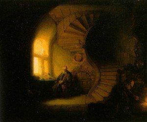 Rembrandt van Rijn, Philosopher in Meditation, 1632, Musée de Louvre, Paris