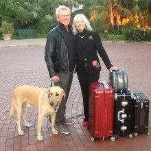 Nancy Jim and Journey Rimowa Four Seasons