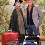 Nancy and James Chuda for Rimowa...the Best Luggage in the World