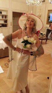 Cangari white dress