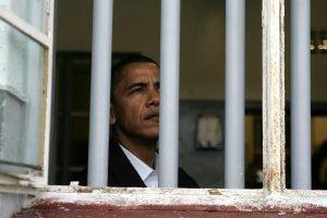 Obama in NM prison cell