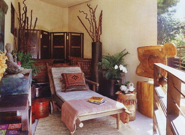 Terrace of meditation suite green home suzanne furst