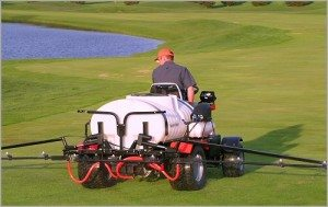 pesticides cause health hazards for golfers on non-green courses