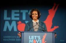 Michelle Obama National Restuarant Association healthy kids meals childhood obesity