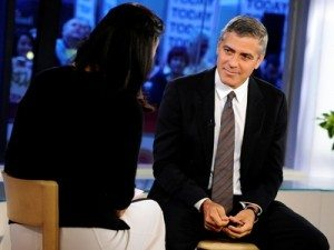 George Clooney on the Today Show talking about Sudan