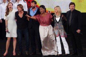 Oprah Winfrey visits Olivia Newton-John, Nicole Kidman, Keith Urban, Hugh Jackman and Russel Crowe in Australia