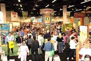 luxEco green Light at the Natural Products Expo