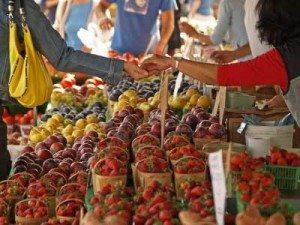 Farmers Market Eating Habits Seasonal Spring