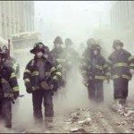 Firefighters on September 11, 2001
