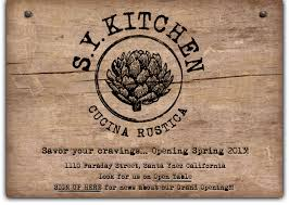 A Review: S.Y. Kitchen Rounds Em Up Italian Rustica Style