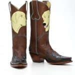 Travels with Journey boots by Back at the Ranch, Santa Fe New Mexico