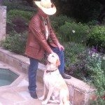 James Chuda for Travels with Journey. Wardrobe provided by Back at the Ranch Santa Ynez California, western hat by Carol Carr, Palm Beach Florida