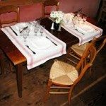 Vincent's table. A precious spot in an even more celebrated environment. Photo credit courtesy of Cassanova Restaurant