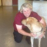 Denise says a special goodbye to Journey as we give thanks to AVS for saving his life.