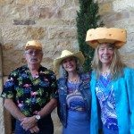 You can't ask for better friends especially when they really know cheese. Richard and Mary Nohr at Sunstone Winery. Photo credit LuxEcoLiving Media Group