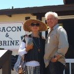 Nancy and Jim Bacon and Brine