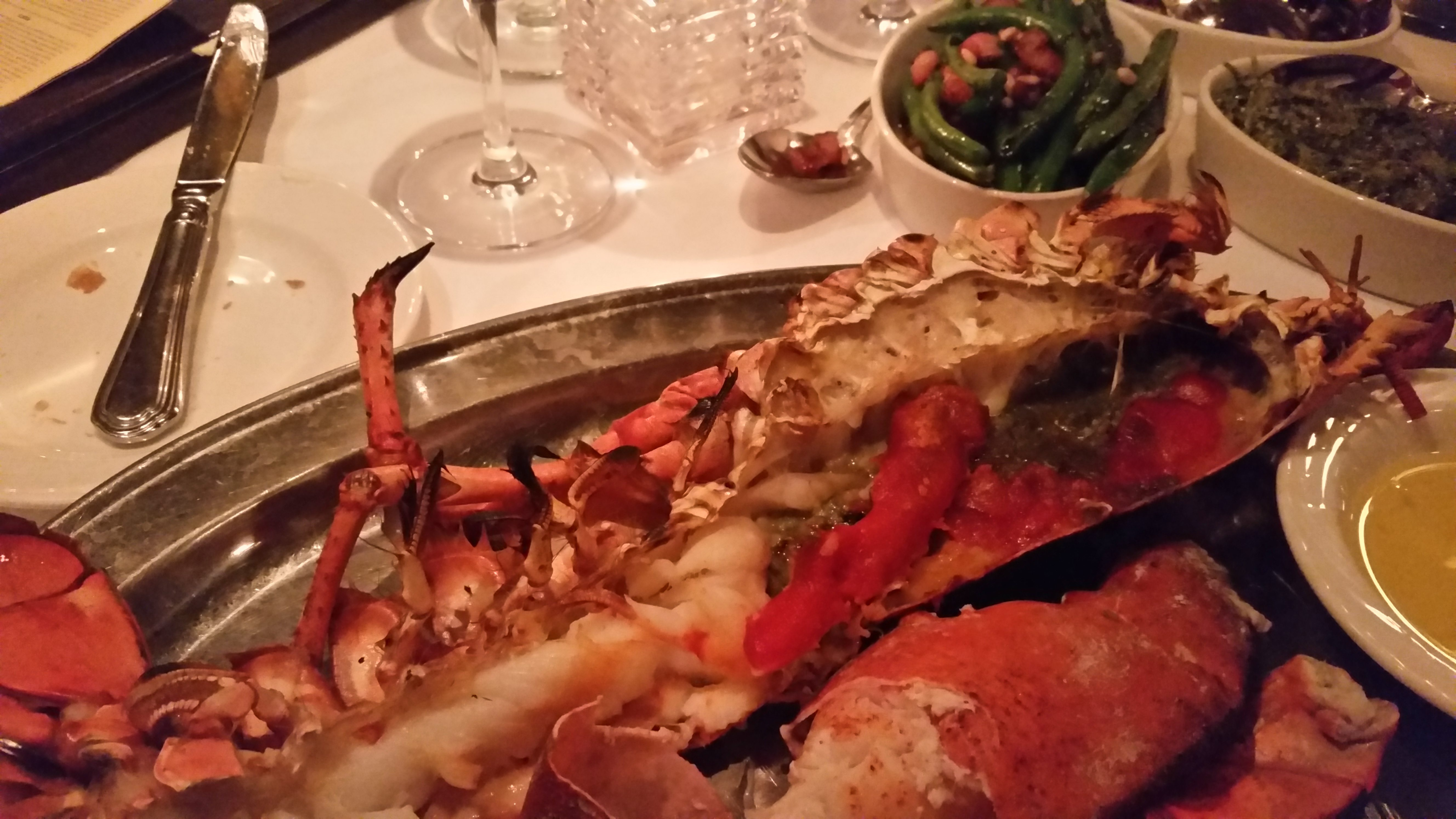 The Palm Restaurant in West Hollywood sets the bar for the best lobster and steak in the world ...